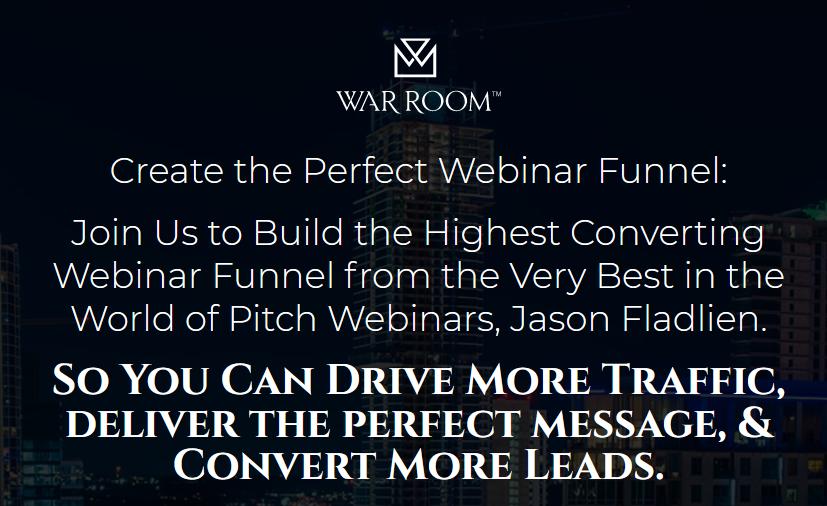 Jason Fladlien – Webinar Funnels (Warroom Mastermind) Download