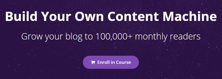 Nat Eliason - Build Your Own Content Machine Download
