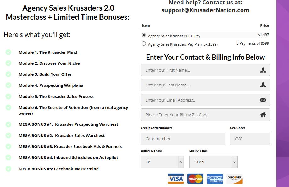 Nik Robbins - Agency Sales Krusaders 2.0 Download