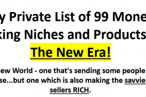 Oliver Goehler- 99 Niches New Era! eBay - Amazon Free Download
