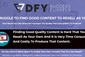 DFY Success Funnels (Releasing 25th November) Free Download
