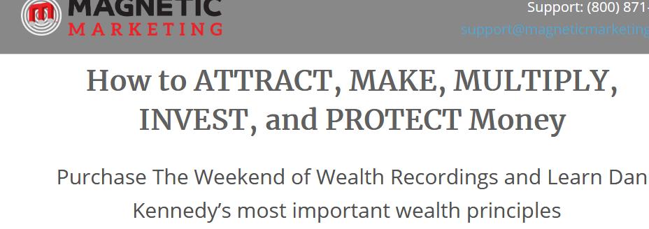 Dan Kennedy – Weekend of Wealth 2020 + Recession Rebound Download