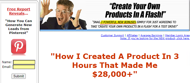 Marlon Sanders - How To Create Your Own Products In A FLASH! Free Download