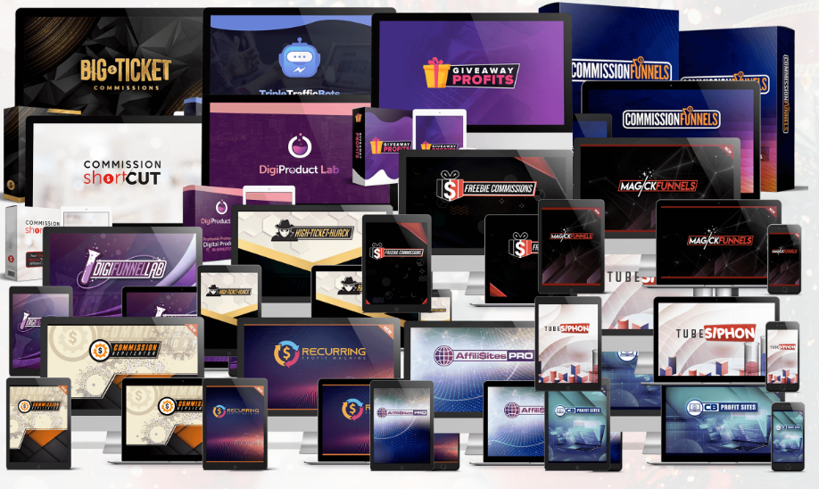 Access to 14 SAAS Sites (X-mas Commissions) Free Download