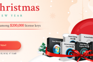 IObit Christmas Giveaway - 200,000 License Keys Free Download