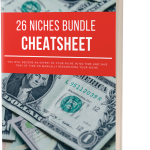 26 Niches Bundle Cheatsheet Free Download