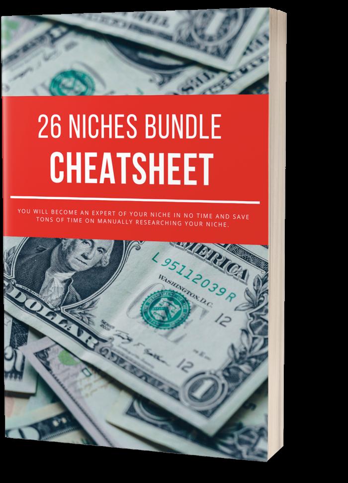26 Niches Bundle Cheatsheet Free Download