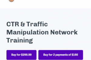 Chris Palmer - CTR and Traffic Manipulation Network Training Download