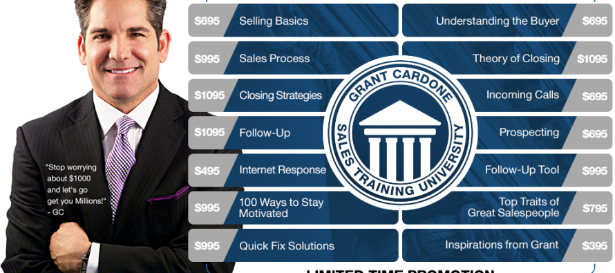 Grant Cardone - Cardone University Download
