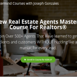Joseph Gonzales - The New Real Estate Agents Mastermind Course For Realtors Download