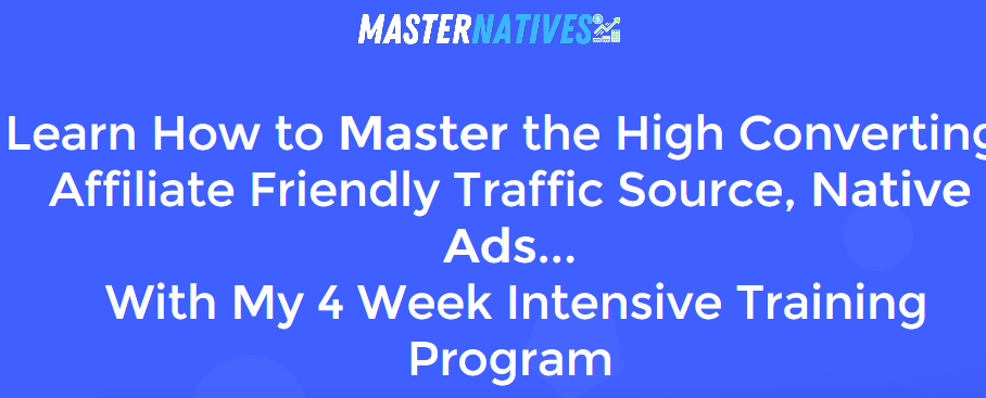 Liam James Kay – Master Native Ads Download