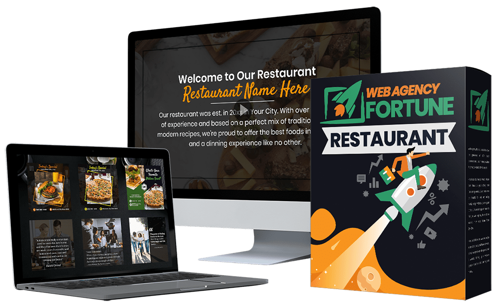 Local Agency Fortune - Restaurant Marketing Pack Download