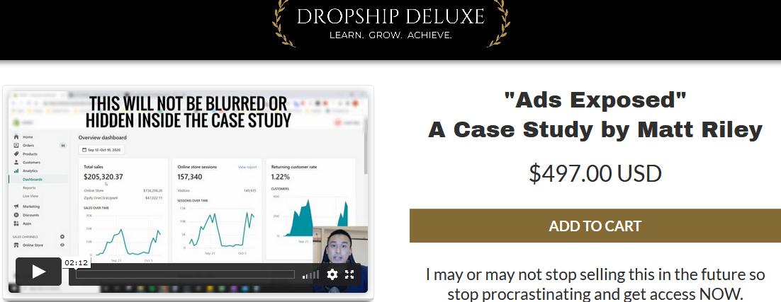 Matt Riley – Ads Exposed Case Study Download