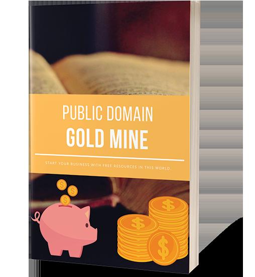 Public Domain Gold Mine + OTO Free Download