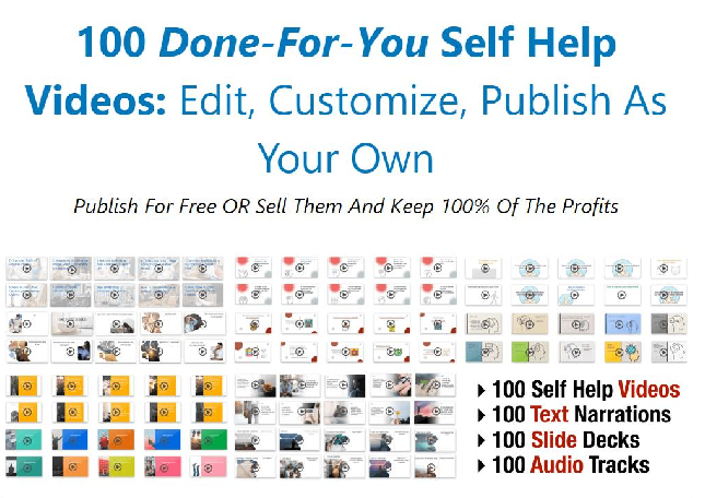 Tools for Motivation - 100 Self Help Video Lessons Free Download