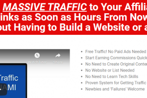 Viral Traffic Tsunami + ALL OTO's Free Download