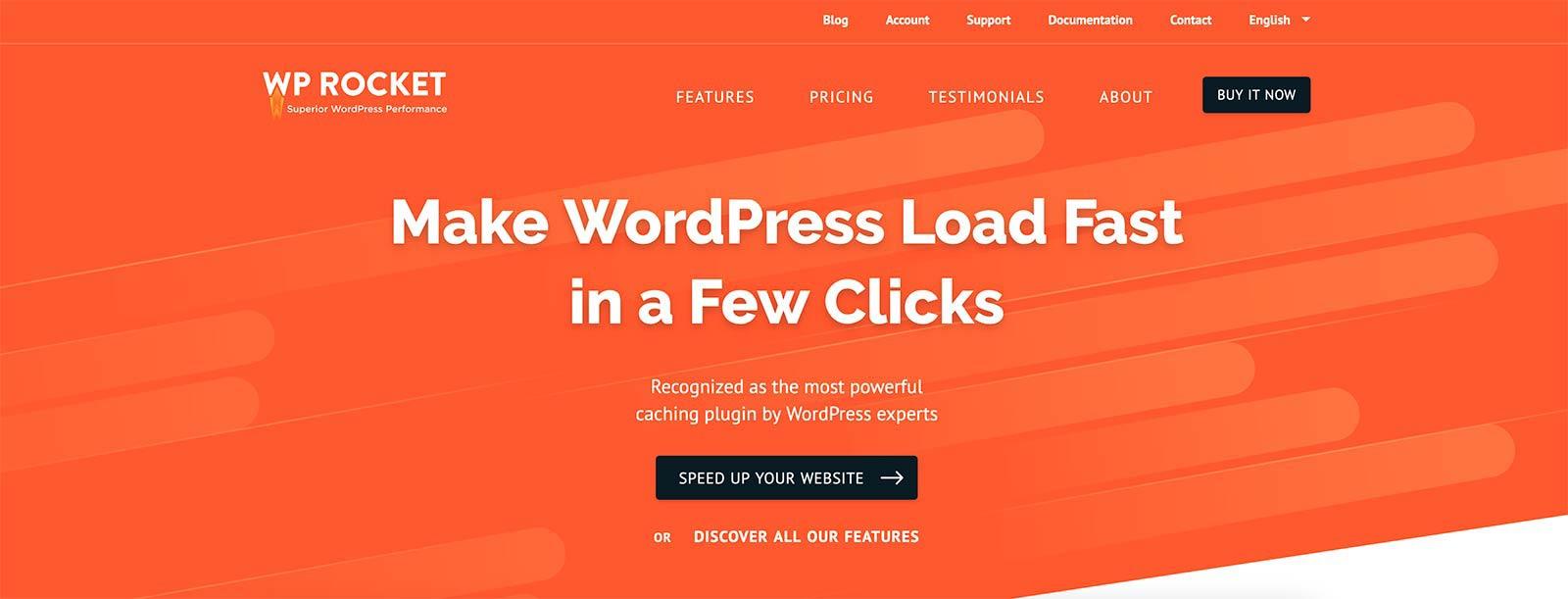 WP Rocket WordPress Plugin Free Download