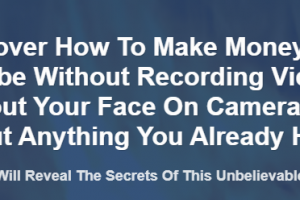 Alessandro Zamboni - Make Money On Youtube Without Recording Videos - Without Your Face On Camera Free Download