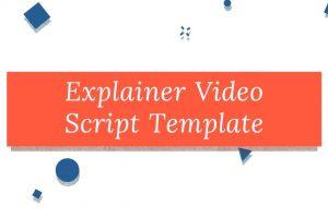Explainer Video Script Template Free Download