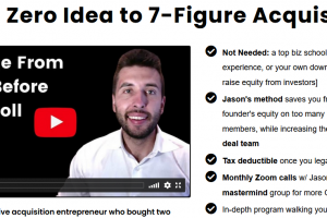 Jason Paul Rogers – From Zero Idea To 7 Figure Acquisitions Download