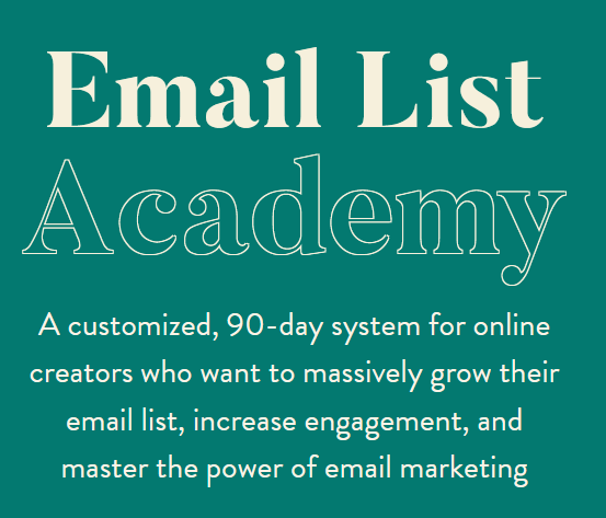 Melissa Griffin – Email List Academy Download