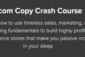 Nate Schmidt - Ecom Copy Crash Course Free Download