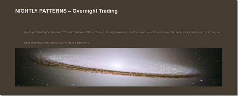 Nightly Patterns - Overnight Trading Free Download