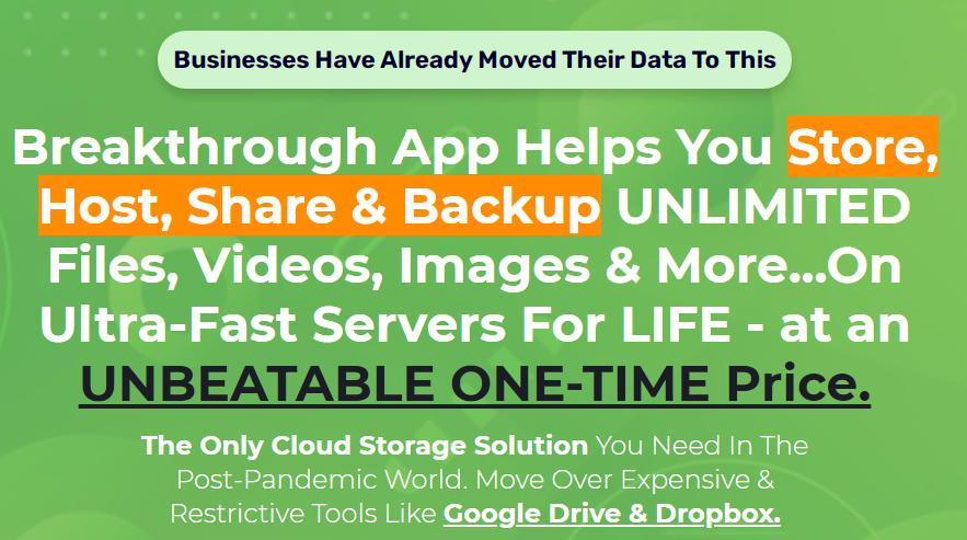 OrangeDrive - Automated Cloud Storage
