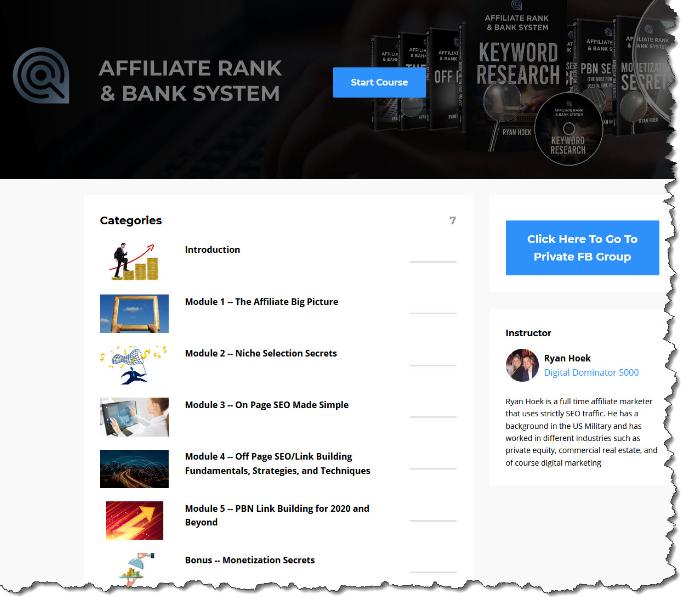 Ryan Hoek – Affiliate Ranking and Banking System Free Download