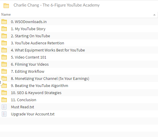 Charlie Chang - The 6-Figure YouTube Academy
