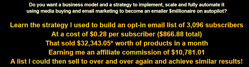 How to be an eMailer $Millionaire on Autopilot in 5 Steps Blueprint Download