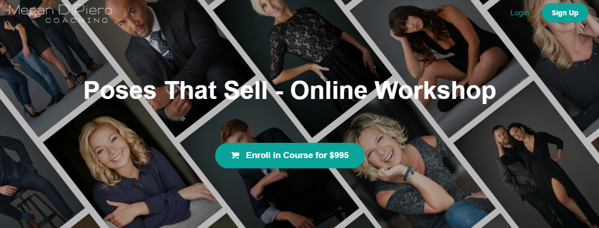 Megan DiPiero - Poses That Sell - Online Workshop Free Download