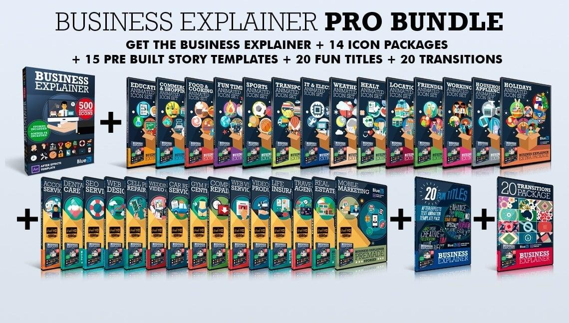 BlueFX - AE Templates, Explainer, PPT, Whiteboard, Explainer Free Download