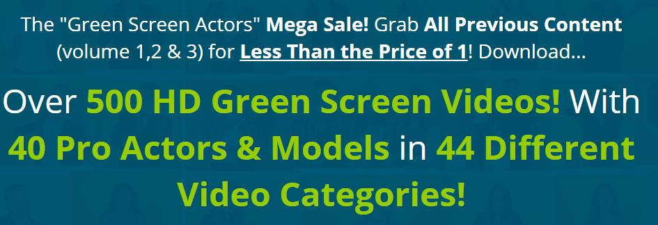 Green Screen Actors Mega Sale Free Download