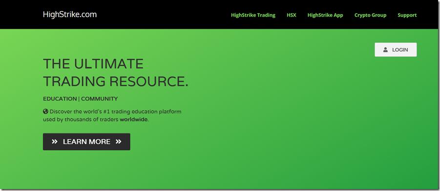 Highstrike Trading School Download