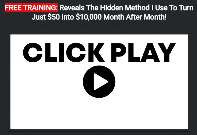 How I Turned $50 Into $10,000 In 1 Month - The $10,000 Affiliate Course Free Download
