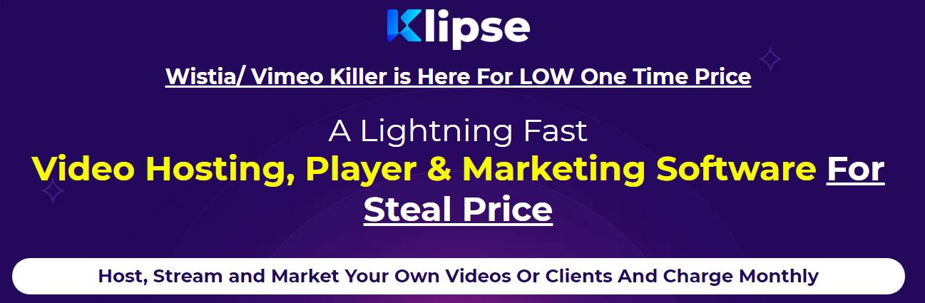 Klipse - World's First Powerful Video Marketing & Hosting Platform Free Download