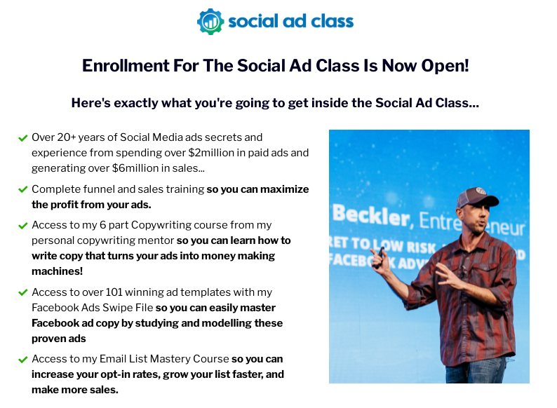 Miles Beckler - Social Ad Class Download