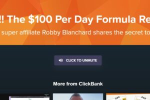 Robby Blanchard - Clickbank - Spark 200 Level Course $100 per day Formula Download