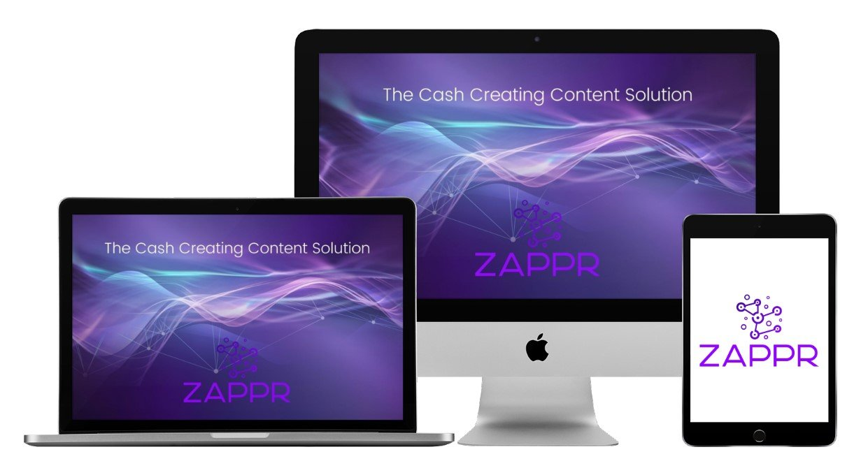 Zappr Sales - Cash Exploding Content in 60 Seconds Flat Free Download