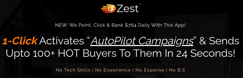 Billy Darr - Zest - AutoPilot Campaigns Free Download