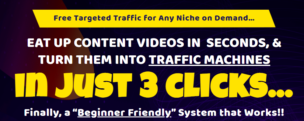 Brendan Mace - VidChomper - Free Targeted Traffic for Any Niche Free Download