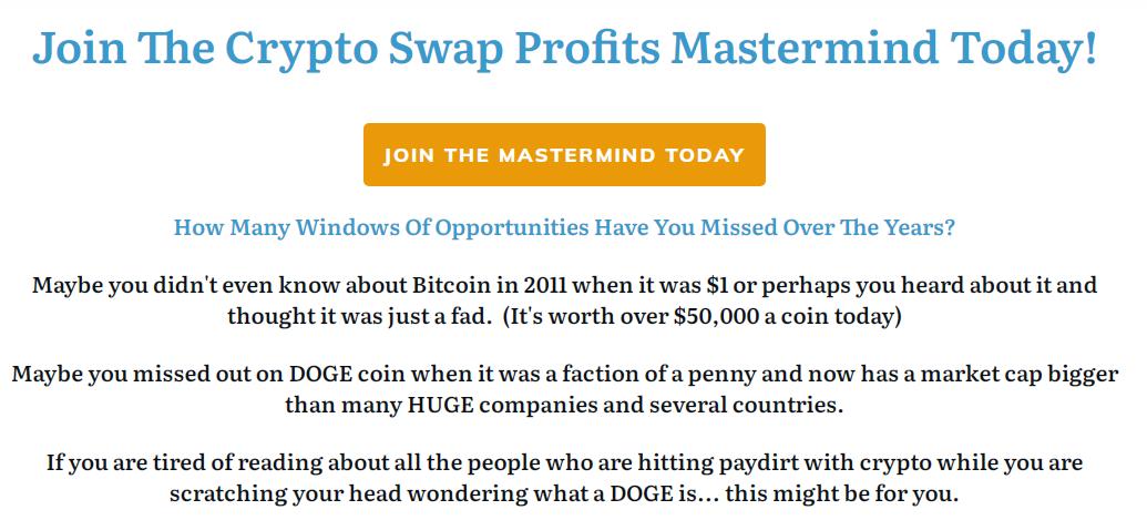 Crypto Swap Profits Mastermind Free Download