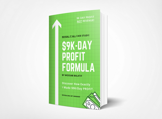 Mossab Balatif - $9K-Day Profit Formula Download