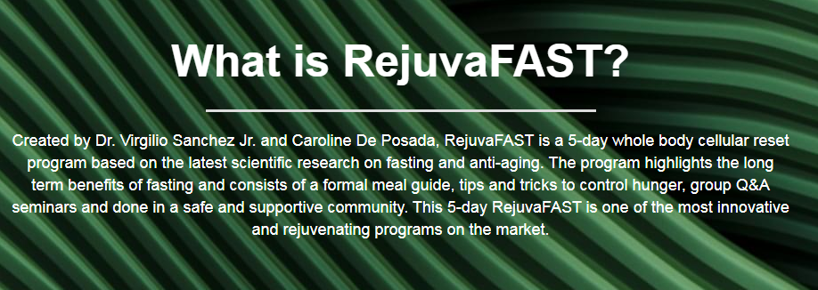 RejuvaFast - Rejuvenate and Renew your Mind, Body, and Soul! Free Download