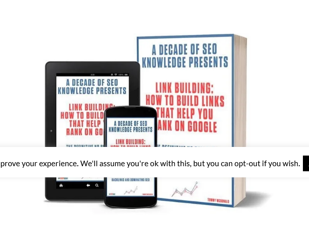Tommy McDonald – Link Building-How To Build Links That Help You Rank On Google Free Download