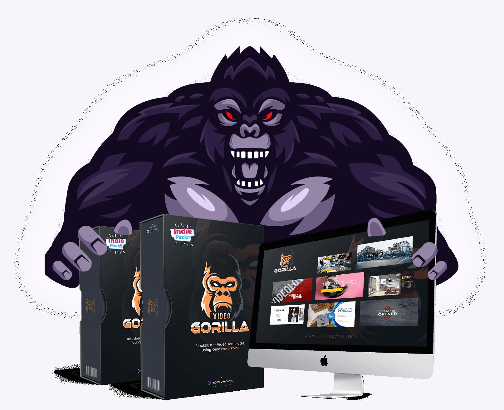 VIDEO GORILLA - Dynamic & Multipurpose Video Marketing Kit Free Download