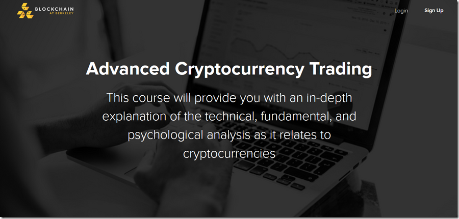 Advanced Cryptocurrency Trading – Blockchain at Berkeley Free Download
