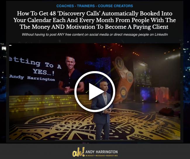 Josh & Andy Harrington – Get New Clients Academy Download