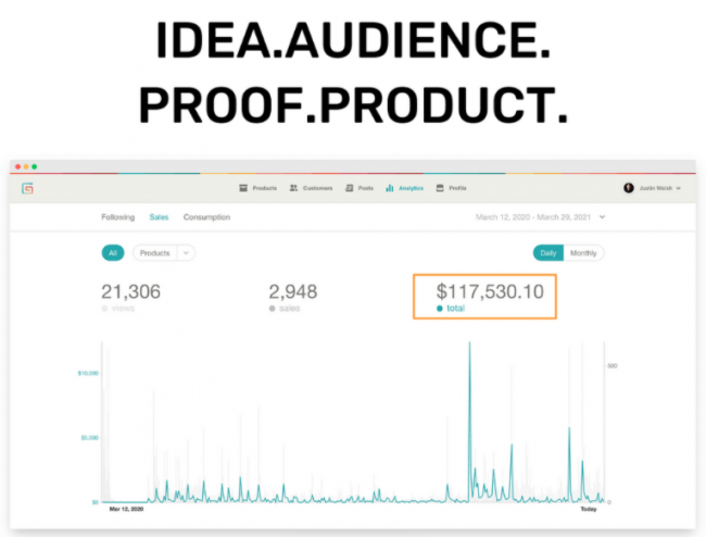 Justin Welsh – Idea Audience Proof Product-The Side Income Playbook Download
